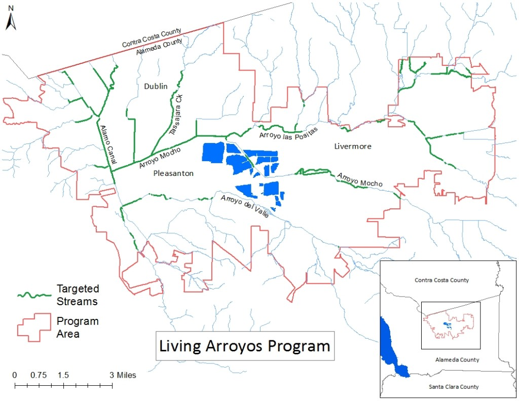 Living Arroyos program area