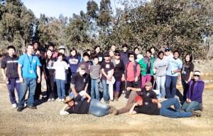volunteer group on saturday